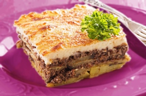 Moussaka with Béchamel