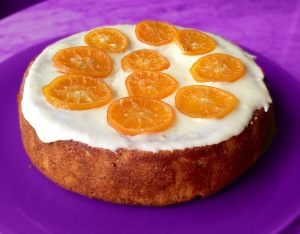Vegan Clementine Cake